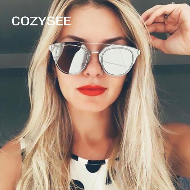Compre Elegante Feminino Designer De Marca Espelho Lente Plana Aviação  Óculos De Sol Clássico Rosa Espelho Cateye Óculos De Sol Mulheres Senhora  Óculos De ... 20237c0528