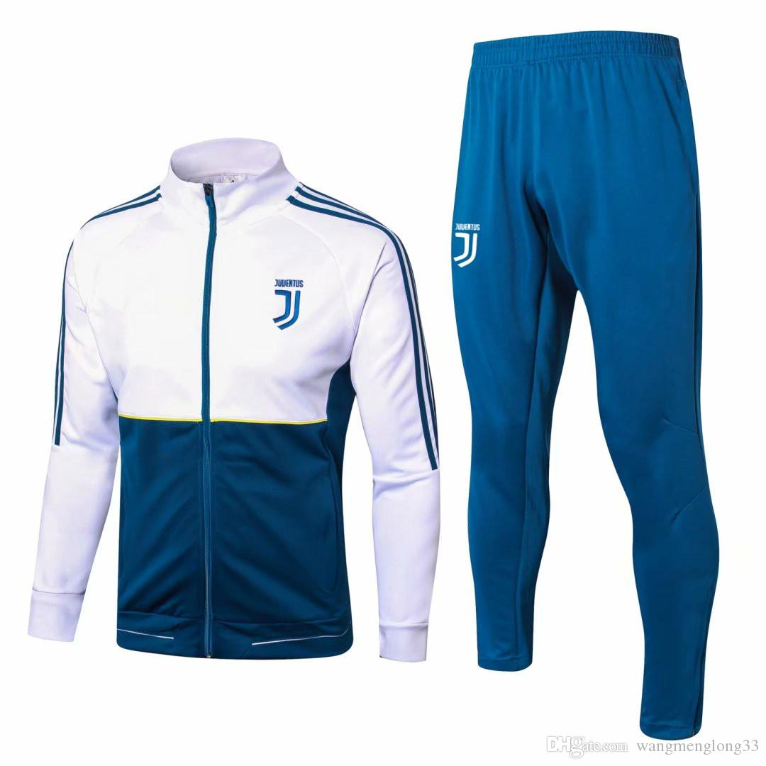 152eebd20 Juventus Jacket Tracksuit 2018 19 DYBALA Soccer Full Zipper Jacket 18 19  DANI MANDZUKIC RONALDO Jacket Tracksuit Sportswear Jacket Tracksuits Online  with ...