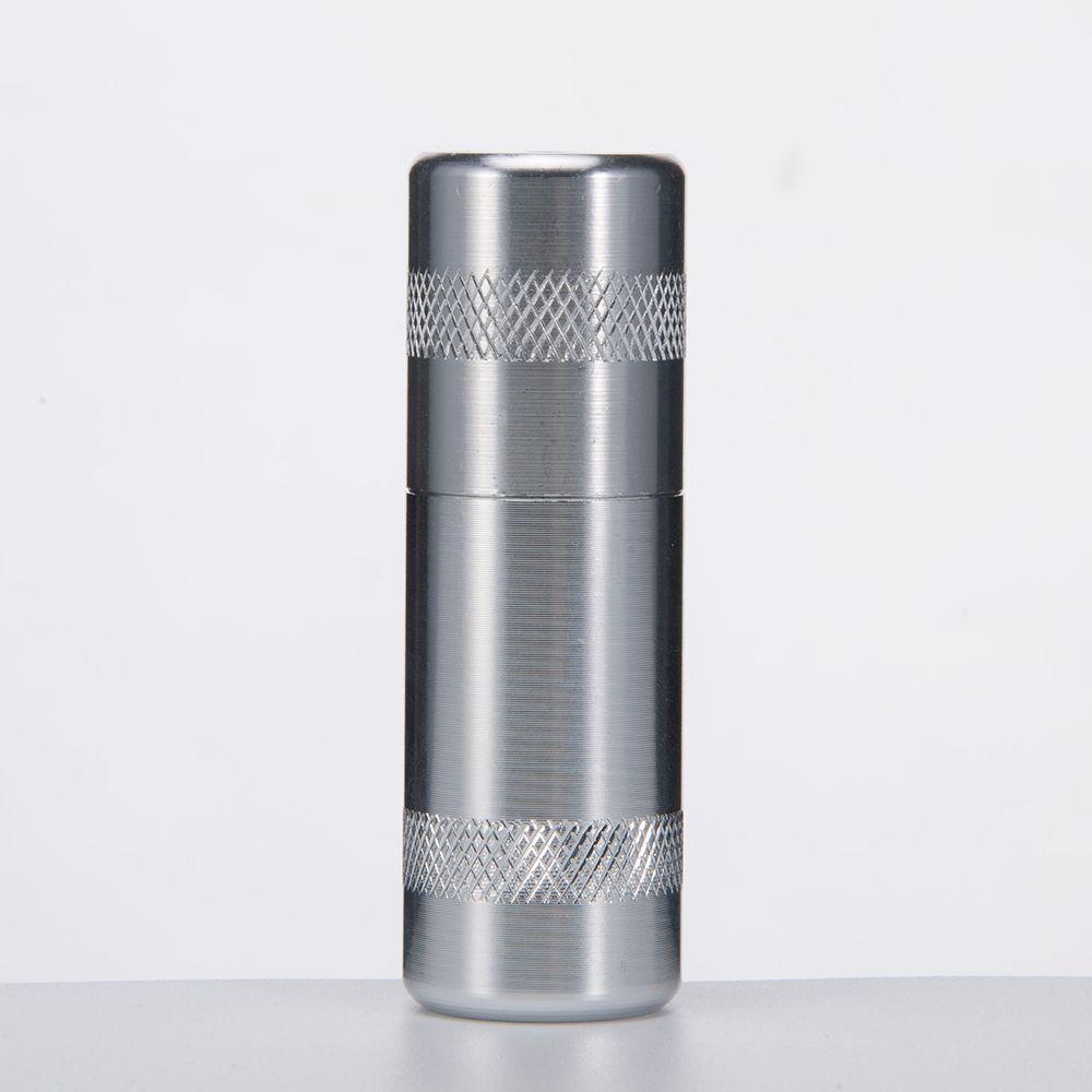 DHL Gas Cracker Aluminum Pipe Mini Metal Pipe Dispenser Cream Cracker Whipper Charger Rubber Nos Length 73mm