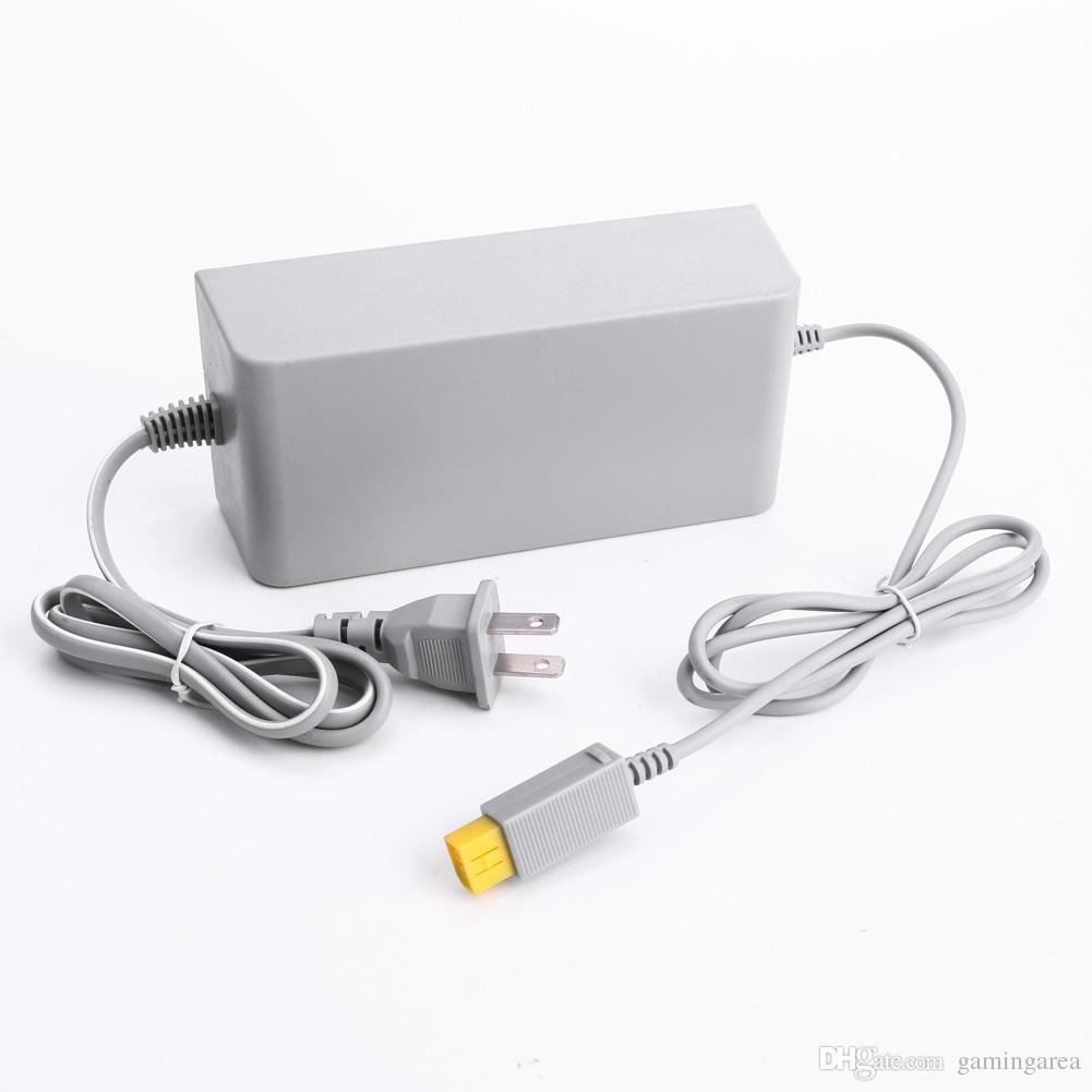 Universal Wall Charger Wiiu Power Supply EU EE. UU. Enchufe Adaptador adaptador de CA para Wii U Console Host DHL FEDEX EMS Free Ship