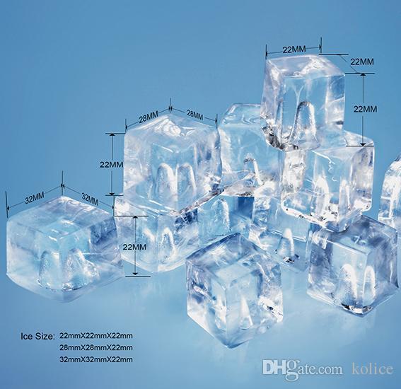 ETL approvato spedizione libera a porta dal tubo del ghiaccio d'aria macchina fare cubetti macchina ghiaccio cubetti di ghiaccio l'hotel, bar, caffè, ristorante