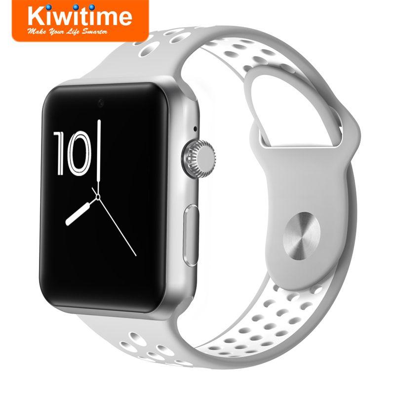 5ff8a7f753d Compre KIWITIME KT25 Relógio Inteligente Conectar SIM Câmera Homens Mulheres  SmartWatch Para IOS 8 9 X Lenovo Android Telefone De Ingemar