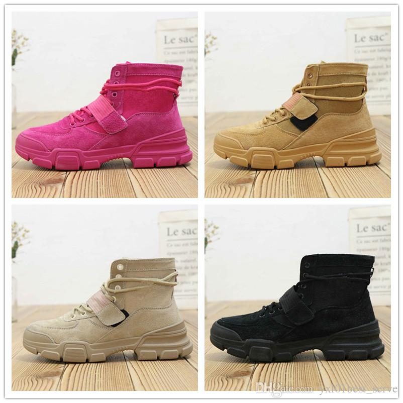 dc27efed6882 2019 Hot DUNK SKY HI 2.0 JOLI Women Mens Outdoor Work Boots Good Quality  Black Fuchsia Fashion Casual Boots 35.5 40.5 Black Boots For Women Platform  Boots ...