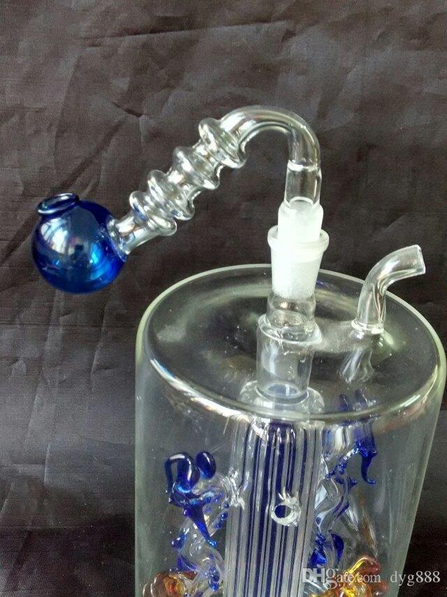 Торонто горшок удачи Оптовая стеклянный кальян, стекло водопровод фитинги, Бесплатная доставка