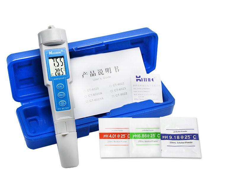 KEDIDA CT-6023 Portable PEN type Digital PH Acidity Meter Analyzer Tester  0 0-14 0pH Aquarium Pool Laboratory Industries