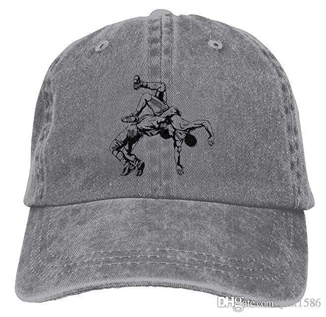 e5a32e196d660 Acheter Les Casquettes De Baseball Des États Unis Wrestling Logo Style  Intemporel Des Chapeaux Personnalisés Pour Les Adolescentes De $8.9 Du  Pzx1586 ...