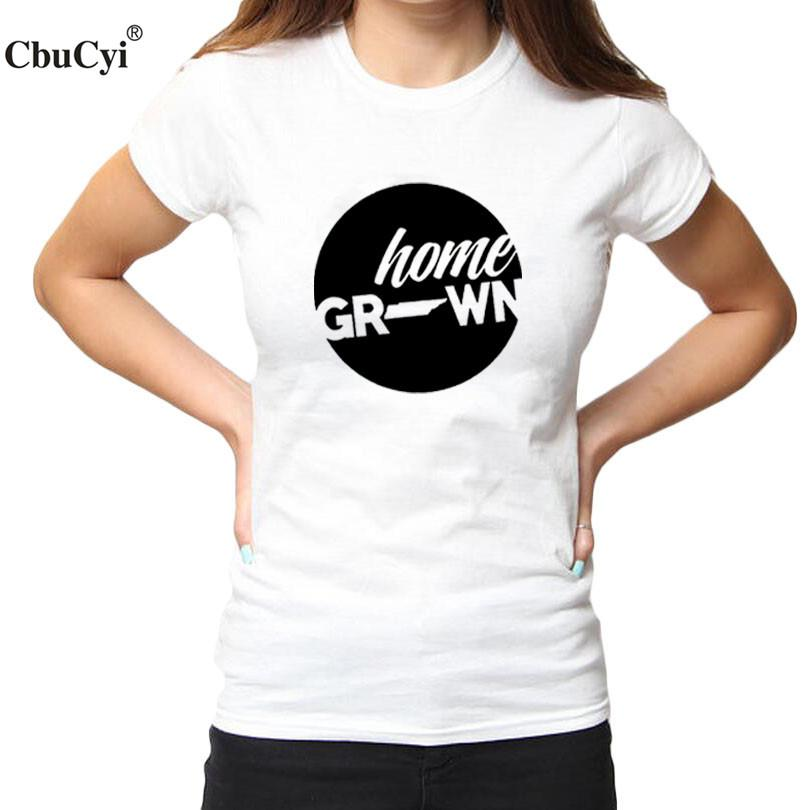 506dfb25b Women'S Tee Home State T Shirt Home Grown In Tennessee Graphic Tees  Wholesale Discount Womens Tshirts Cotton Women Tops Black White Big Size  Online Tee ...