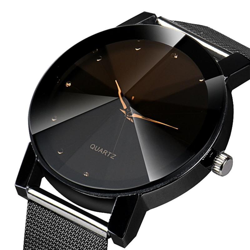 955c1d7559919f Fashion Women Simple Dress Watch Crystal Stainless Steel Analog Quartz  Wrist Watch Women Bracelet Watches Relojes Mujer Watch Sales Online Watch  On Sale ...