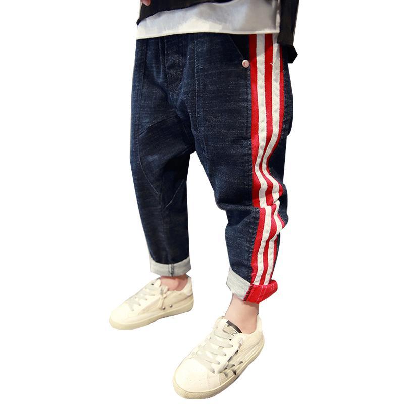 Bébé Jeans Pour Ans Droit Nouveaux Hiver 4 12 Garçons Enfants Ados Décontracté Solide Garçon Automne Vêtements Coton 1TlJcFK3