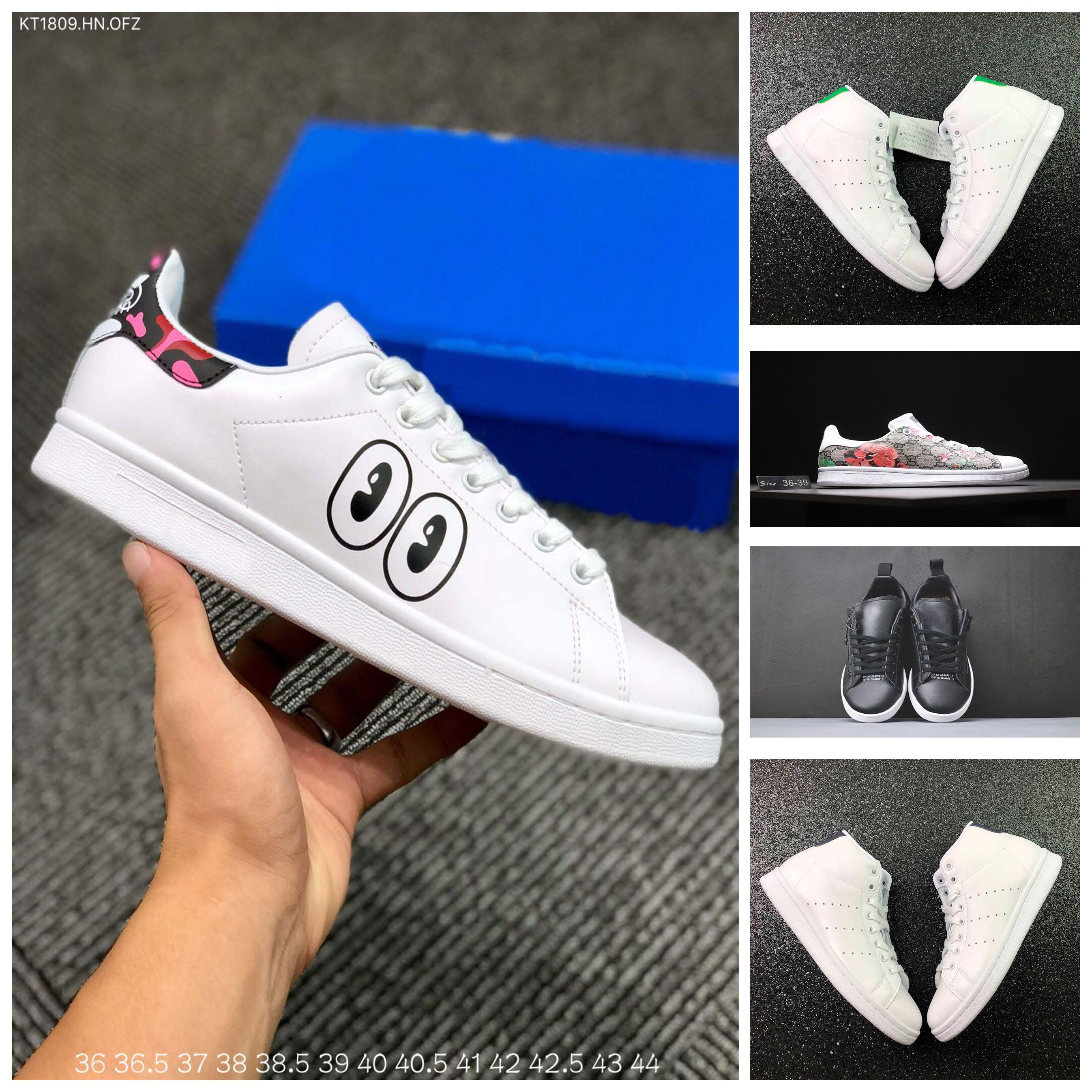 75ce5bae2ac 2018 Mens Designer Luxury Shoes Casual Shoes White Women Sneakers ...