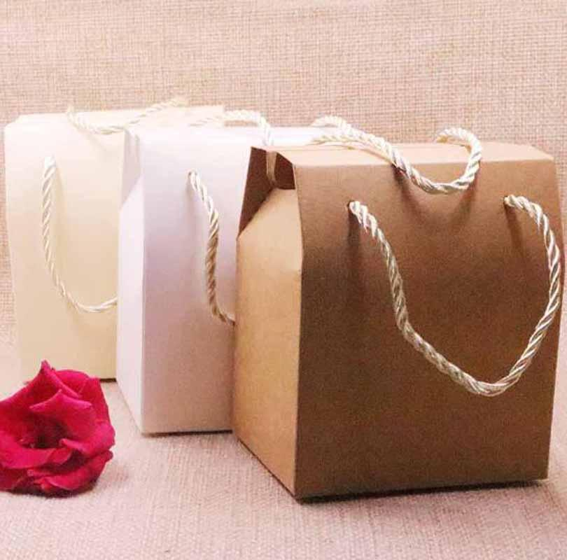 2018 Hot Sale New Diy Candy Box Gift Box 6colours Wedding Favourate