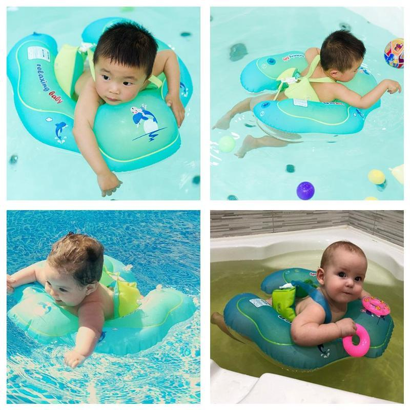13cad8cf63 Inflatable Summer Kids Baby Swimming Ring Child Water Fun Toy Swim ...