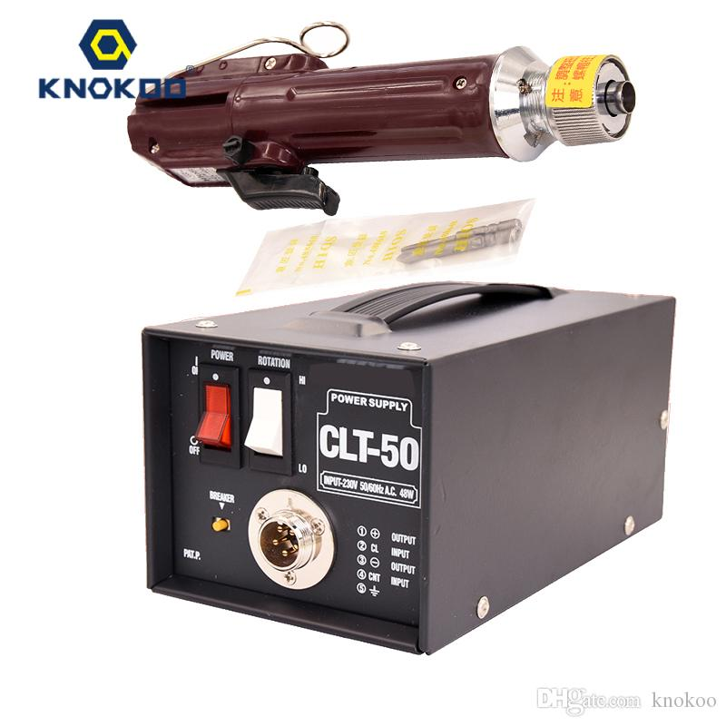 KNOKOO Professional مفك كهربائي مجموعة CL-4000 H4 bit 1.0--5.5 kfg.cm مع مزود طاقة CLT-50