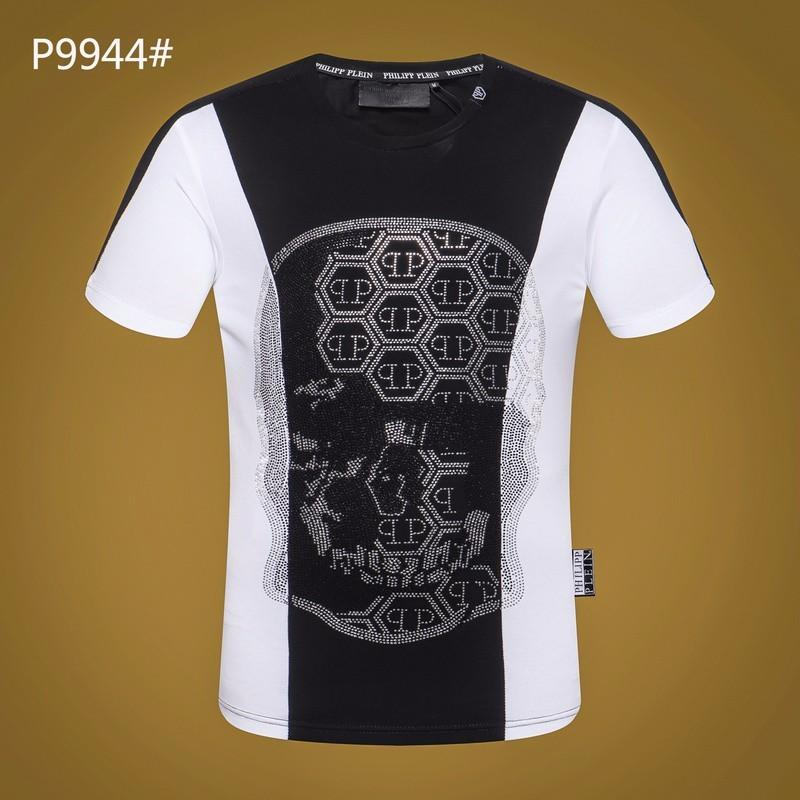 0a81337ec0a 2018 T Shirts Diamond Topsamptshirt Men Cotton Fashion Famous Design ...