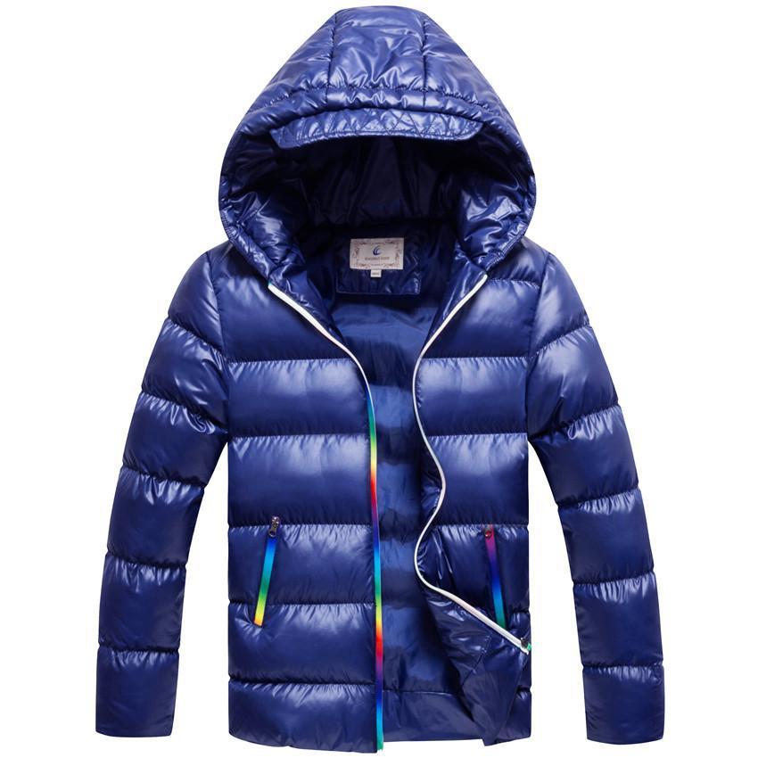 newest 39f32 513af Jungen Wintermantel Parkas Wadded Jacken Oberbekleidung Baumwolle Jacke  Mode Lässig Dicke Warme Mantel Für Jungen 130-170 Hohe Qualität Y18102608