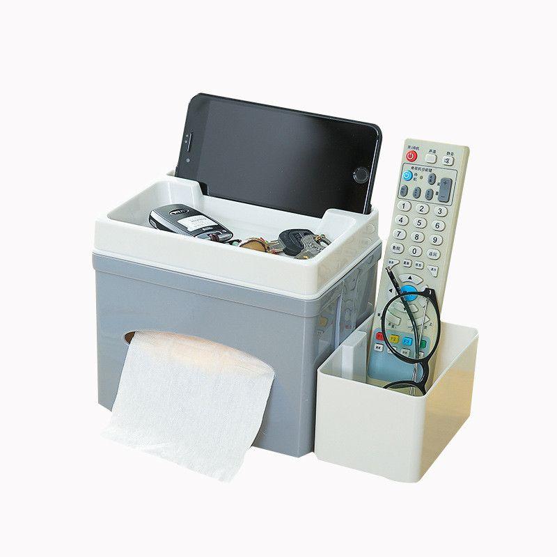 2018 Desktop Jewelry Cellphone Storage Box Remote Control Stationery Storage Boxes Comsetic Storage Box Desktop Napkin Boxes From Tanguimei6 ... & 2018 Desktop Jewelry Cellphone Storage Box Remote Control Stationery ...