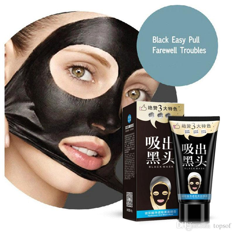 one spring face mask Tearing style Deep Cleansing hyolurnic acid Acne  remover strawberry nose black mud walmart 60g