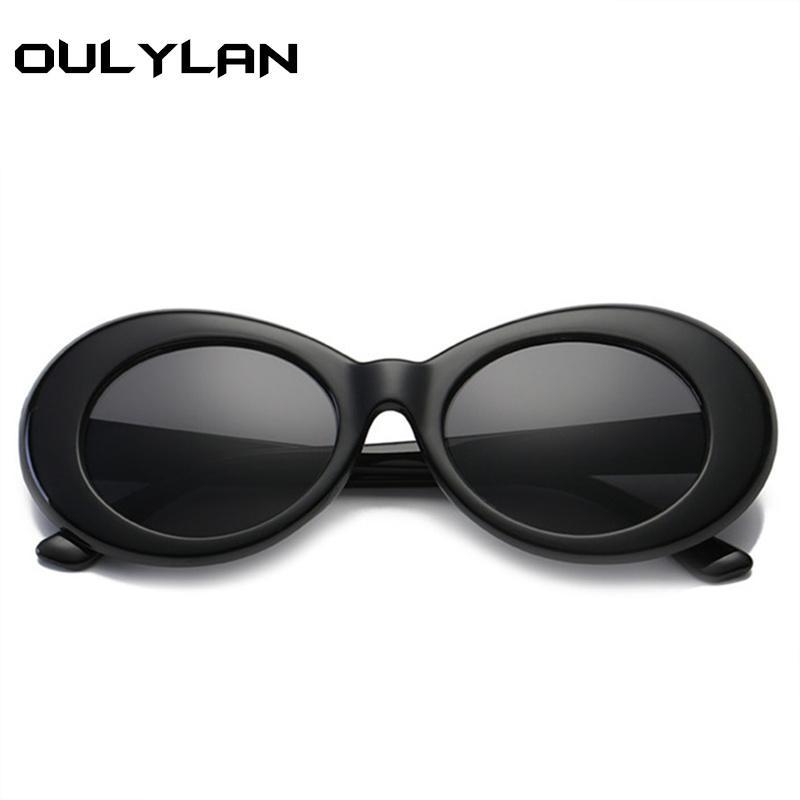 00907f660d Oulylan Clout Goggles NIRVANA Round Sunglasses Kurt Cobain Glasses For  Women Men Brand Designer Retro Sun Glasses UV400 Eyewear Baseball Sunglasses  John ...