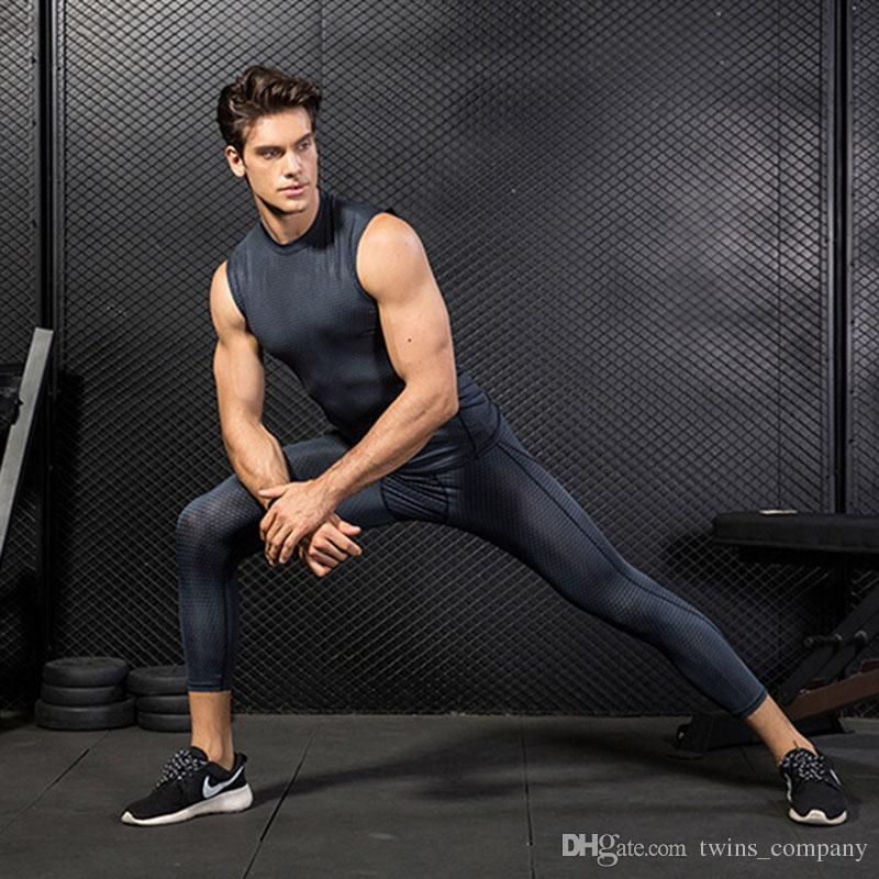Maglia da uomo sportiva senza maniche da uomo Quick Dry Gilet da corsa da uomo Snake Gym Abbigliamento Fitness Top da uomo