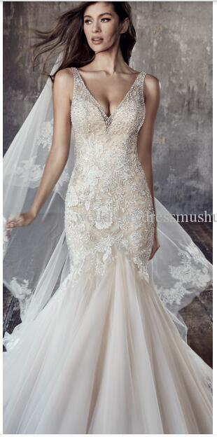 9c8877ee05 From Regal Lace Trains To Illusion Backs Bridal Dresses Cheap Cheap  Beautiful Wedding Dresses From Wedddingdressmushuan