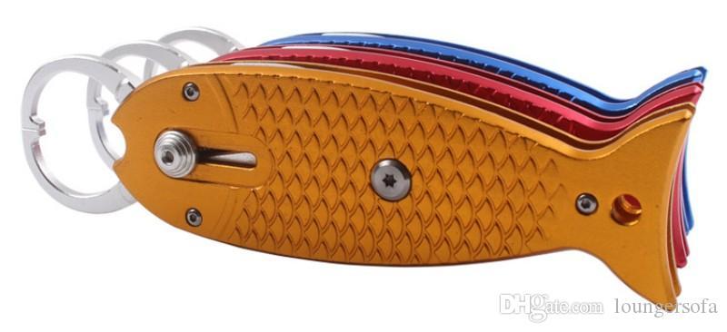 Алюминиевый сплав рыбы губы сцепление крепкий Multi цвета Рыбалка плоскогубцы с веревкой сопротивление падения рыбалки захват высокое качество 25qy B