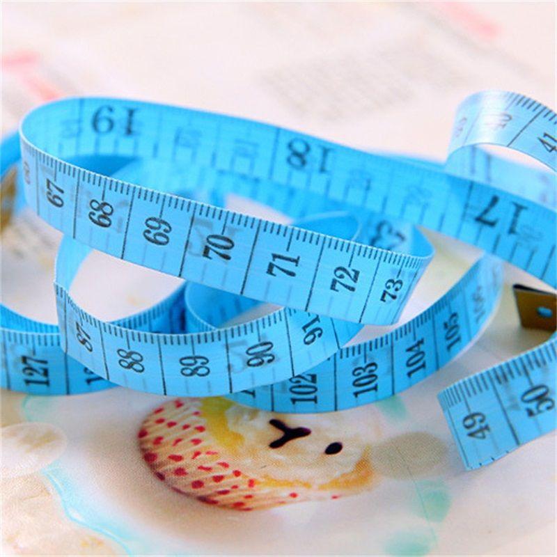 150CM Materiale in PVC Macchina da cucire Corpo Nastro di misurazione Panno cucire Righello portatile Mini Sarto di nastri Misura 0 17cd Z