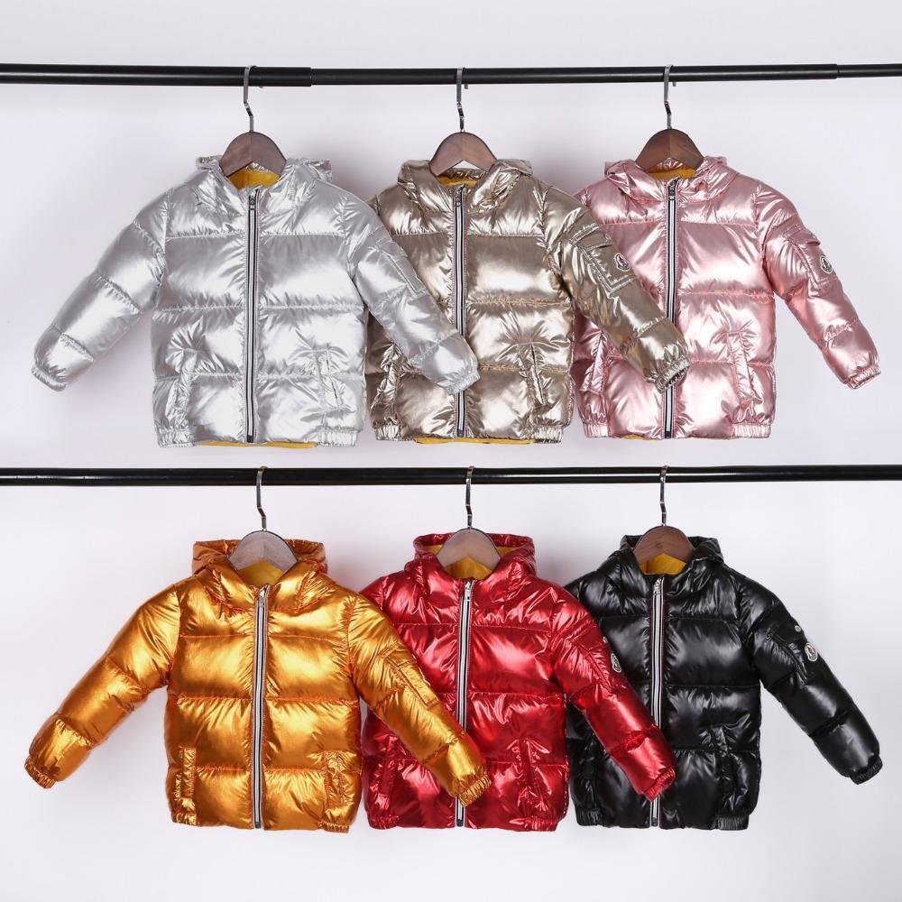 207532fe0 New Short Baby Children S Down Coat Boy And Girl Winter Fashion ...