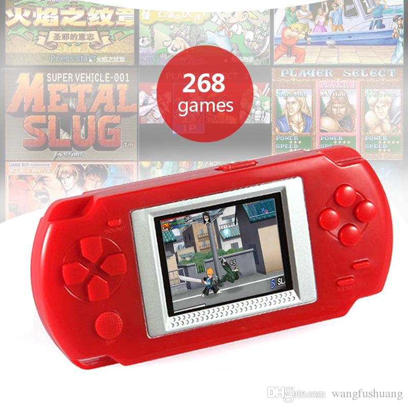 Mini Handheld Game Players 268 Games Retro Video game Console 2.0'' Color screen Gaming consola Gift For The Children