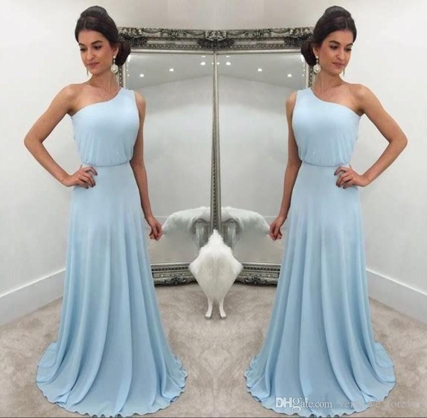 1c4902f4f21 Custom Made Simple Chiffon Bridesmaids Dresses Cheap 2019 Elegant ...