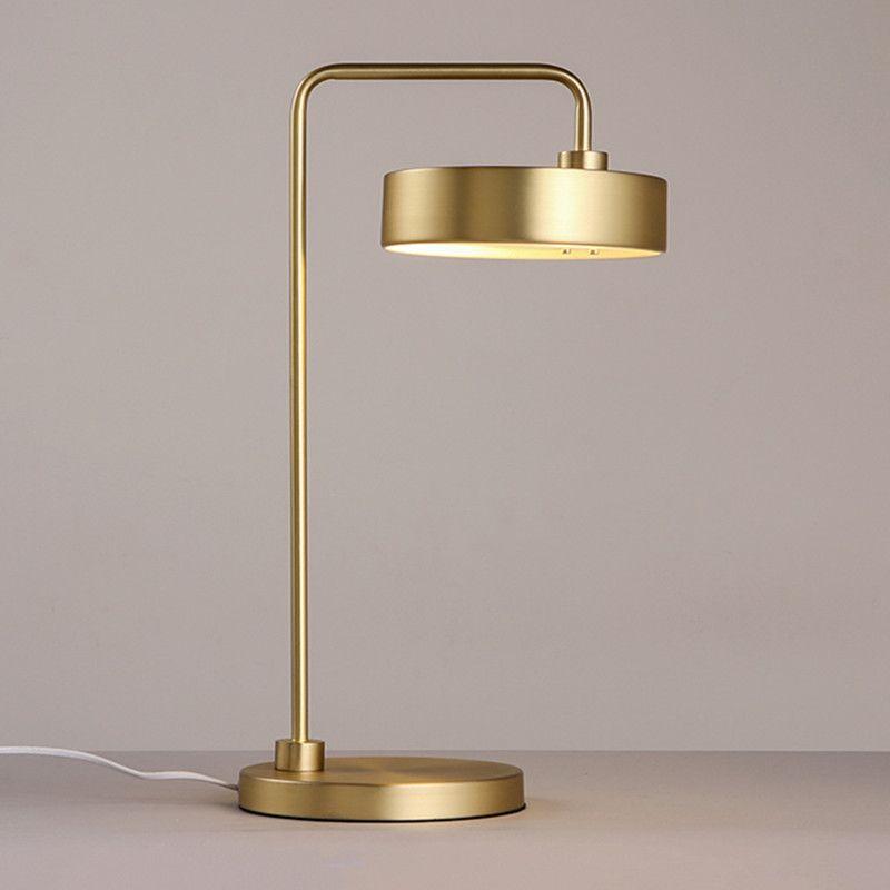 Modern Minimalist Table Lamp Creative Bedroom Metal Glass Ball Decorative Lamp Art Study Light Free Shipping Professional Design Lights & Lighting Nordic Post Desk Lamps