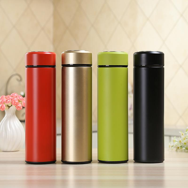 b3faaf2518e6 Stainless Steel Vacuum Flasks Home Kitchen Thermos Insulated Thermos Cup  Coffee Mug Travel Drink Bottle For Coffee 450ml