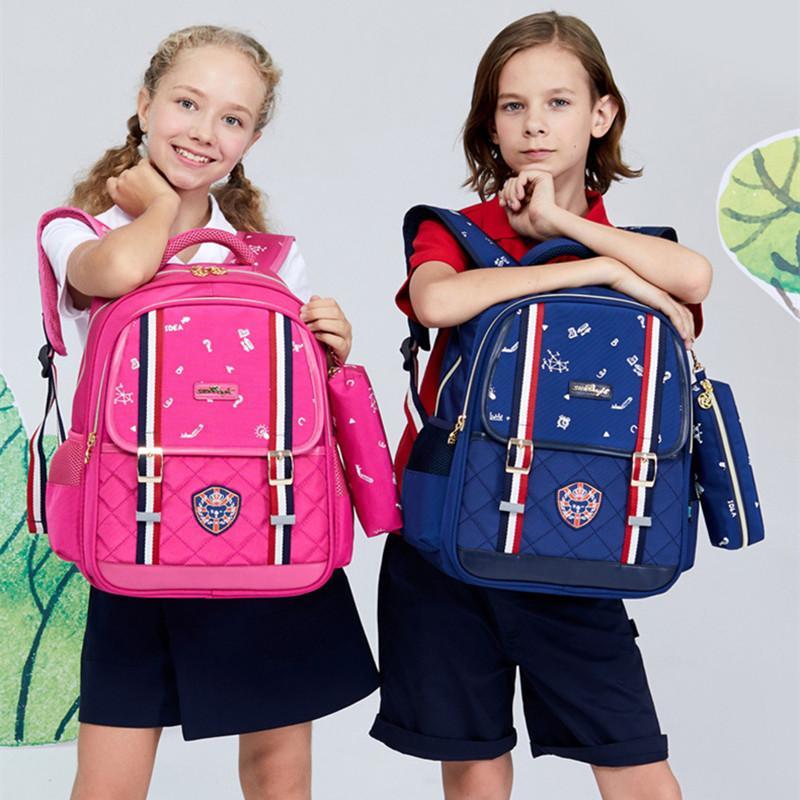 Boys Kids School Bags Orthopedic Laptop Backpack Schoolbag Waterproof Nylon  for Girls Children Travel Backpacks Mochila Escolar Online with   84.54 Piece on ... 5824beabbf