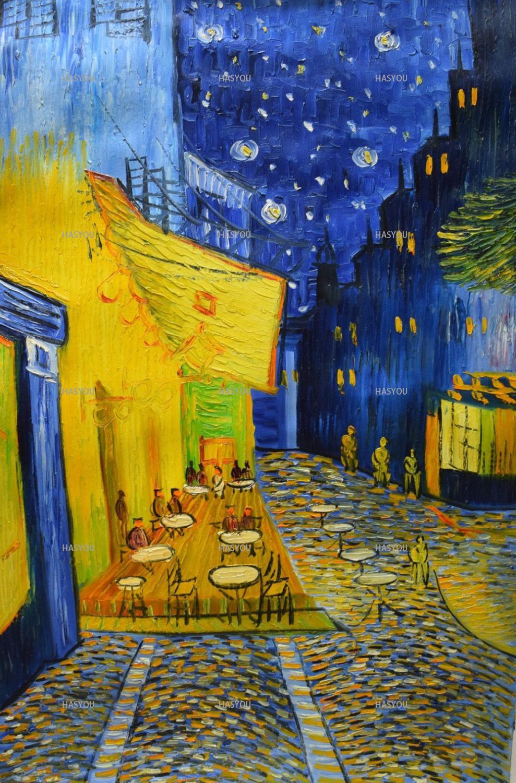 Grosshandel Cafe Terrasse Nachts Durch Vincent Van Gogh 100