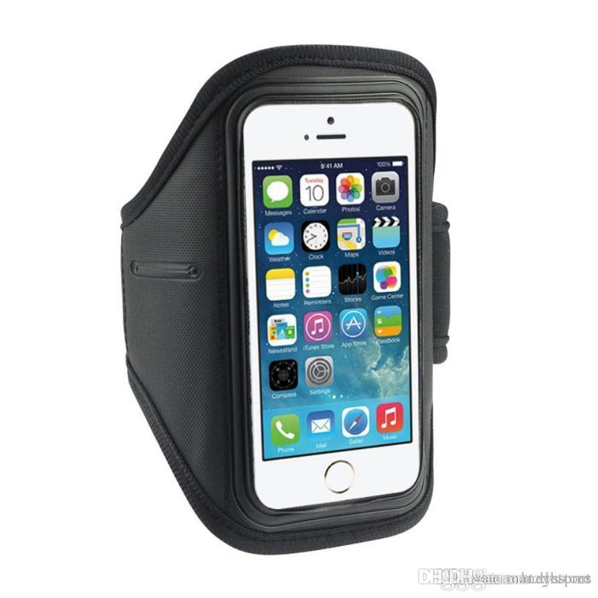 e152bb5228b Compre Wholesale Premium Sports Running Armbands Sport Gym Running Cyband Arm  Band Armband Case Para IPhone 5S 5C 4G 4S Para IPod Touch 4G Regalos A  $18.95 ...
