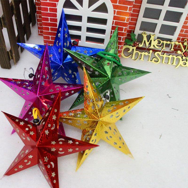 Stella Di Natale Tridimensionale.Stella Di Natale Di Vendita Calda Stella Di Natale Tridimensionale Stella Di Natale A Cinque Punte Stella Di Natale Decorazioni 2015 Piu Recente