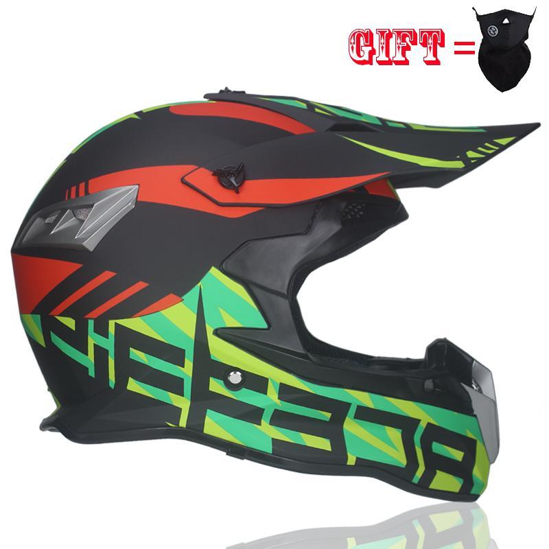 2018 New Motocross Helmet Bike Downhill Downhill Cross Country Helmet DH  Racing Helm Cross helmet es