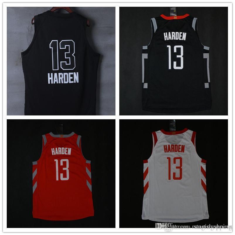 73d4ce111 ... norway hot sale 2018 new season authentic men basketball jersey 13  james harden 3 chris paul