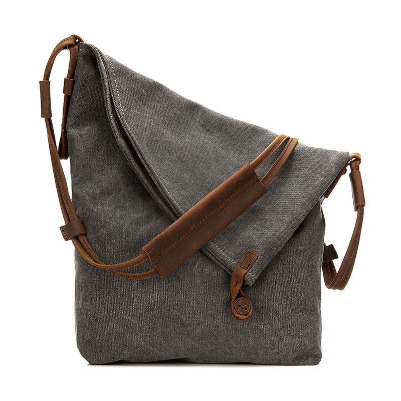Nesitu Canvas Women S Messenger Bag Office Work Woman Shoulder Bags  M6631  Cute Purses Crossbody From Murie 979c0ae2c5