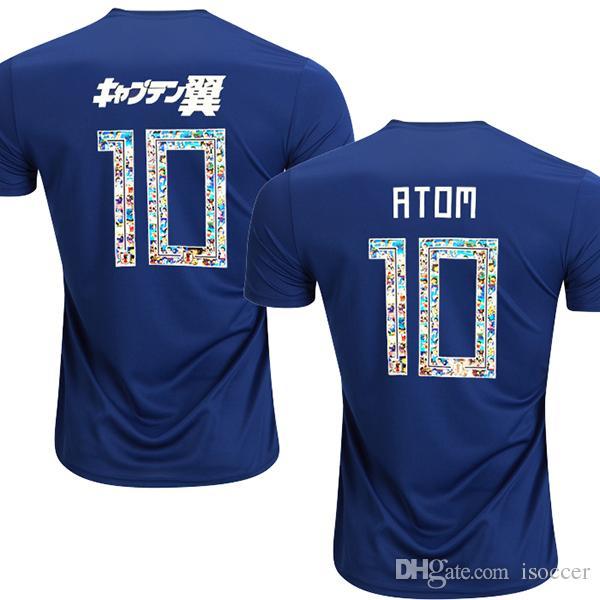 2019 2018 Japan TSUBASA Version Soccer Jerseys Japan World Cup ATOM 18 19  Home Away KAGAWA ENDO OKAZAKI NAGATOMO KAMAMOTO Football Shirt From  Isoccer 6a34d26c7