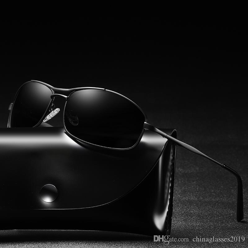 92140784ea4db BRAND DESIGN Classic Polarized Sunglasses Men Women Driving Square ...