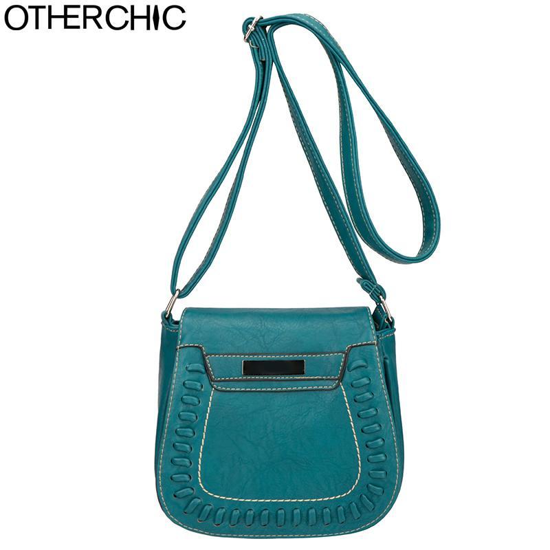 20bc16898c3 OTHERCHIC Designer Crossbody Bags PU Leather Saddle Bag Small Women  Shoulder Bags Brand Fashion Messenger Purse 8N05 13 Red Handbags Italian  Leather ...
