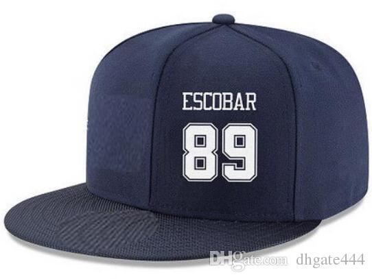 5e2467c30a0 Snapback Hats Custom Any Player Name Number  11 Beasley  89 Escobar ...
