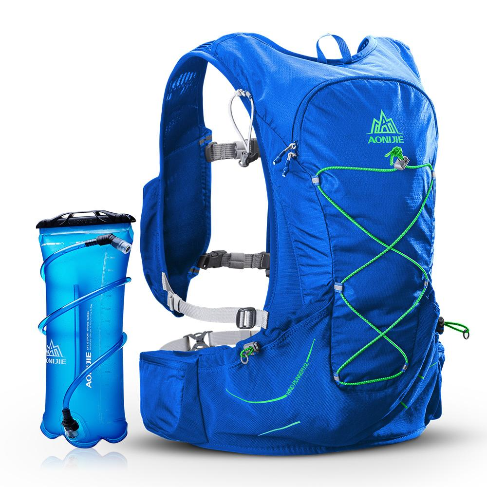 7ae557b48d 2019 AONIJIE Hydration Vest Running Water Pack Vest Marathon Hydration  Backpack With Emergency Blanket Whistle Extra 3L Water Bladder From Dinaha,  ...