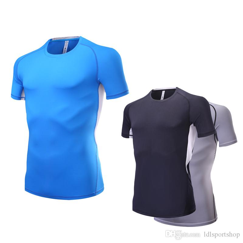 Office & School Supplies Latest Collection Of Breathable Men Running T-shirt Short Sleeve Compression Shirt Exercise Training Sportswear Shirt Fitness Gym Yoga Running Jersey Beautiful In Colour Fitness & Body Building