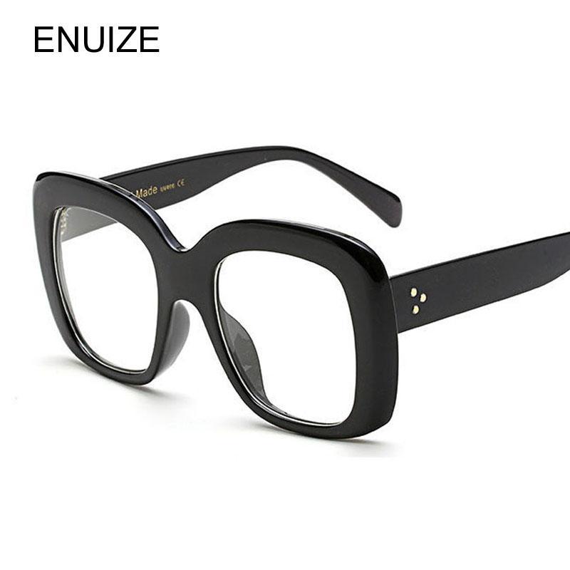 681d0f7b19 Fashion Myopia Optical Glasses Frame Square Women Clear Lens ...