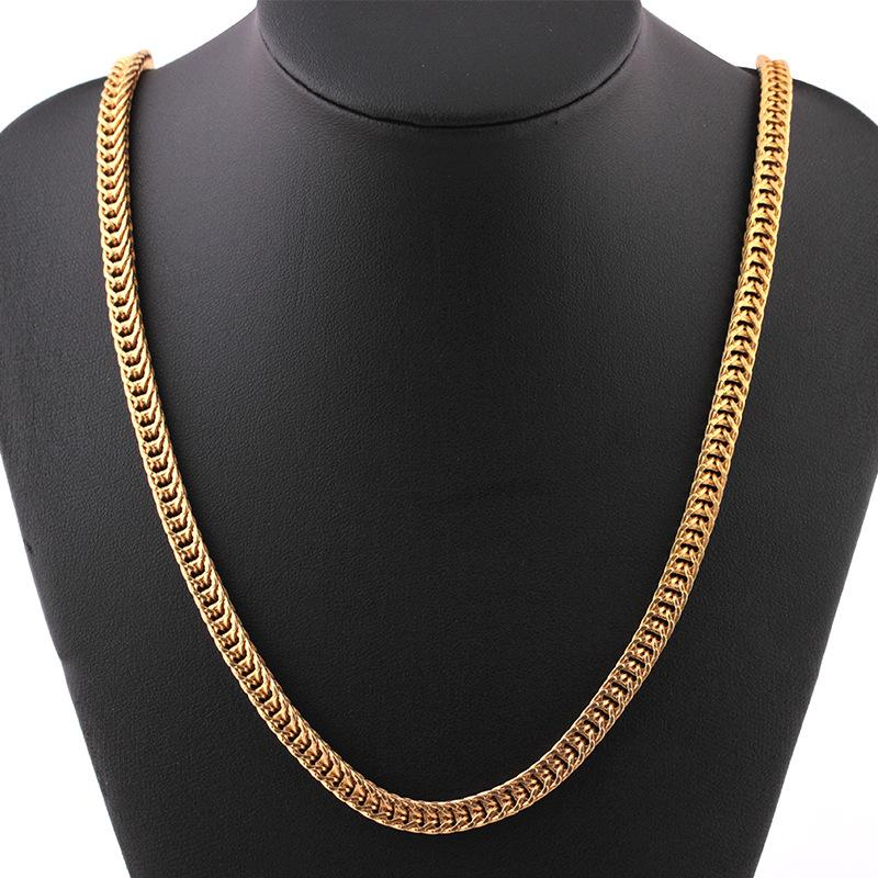 Jewelry & Watches Precious Metal Without Stones Sterling Silver Jewelry Foxtail Link Simple Chain Necklace Pretty And Colorful