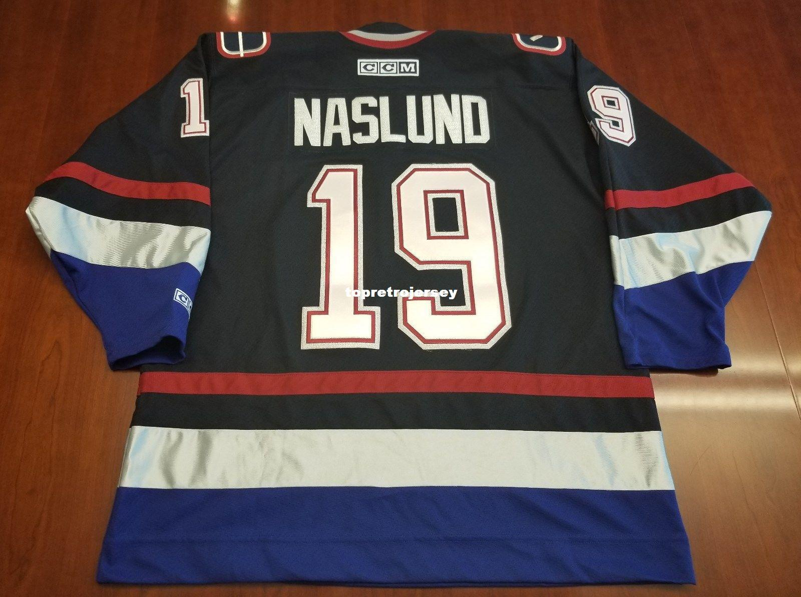 0cfa0fec14c Wholesale Custom Markus Naslund Vintage Vancouver Canucks CCM Cheap ...