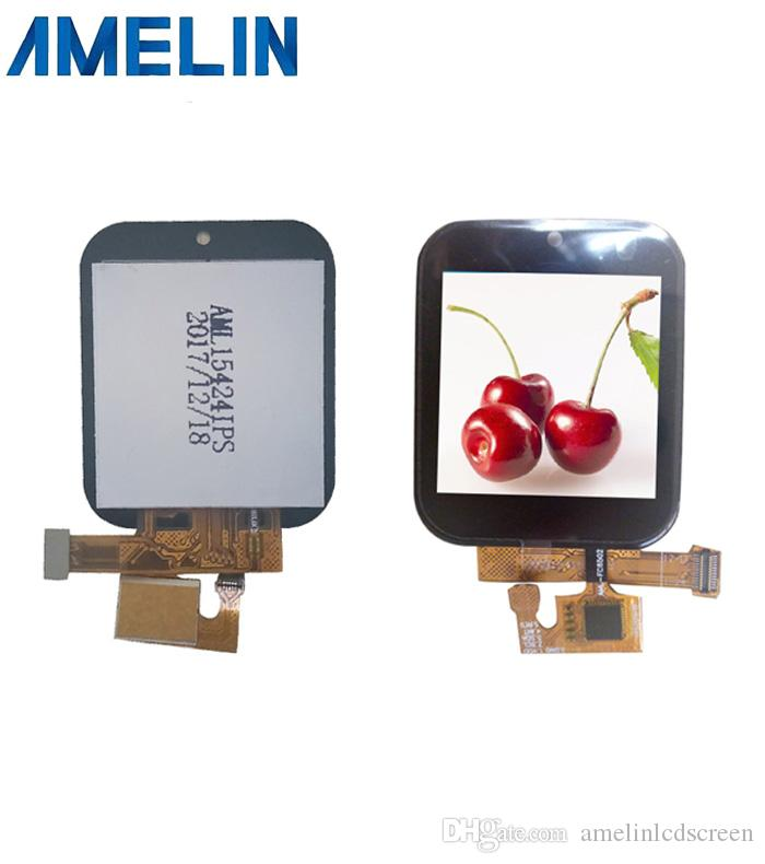 1.54 inch 240*240 square IPS tft lcd module display with touch screen and MCU interface from shenzhen amelin panel manufacture