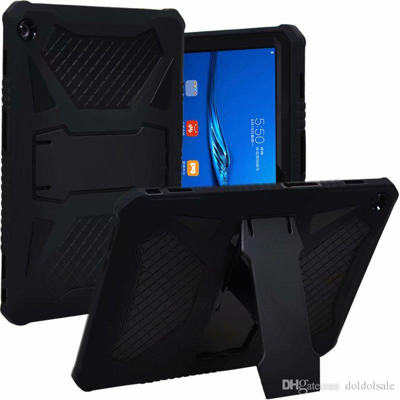 cheaper 8dcdc 06f73 Silicone Case Hard PC Shockproof Heavy Duty Armor Back Cover for Huawei  MediaPad T3 10 AGS-L09 AGS-L03 Honor Play Pad 2 9.6 inch