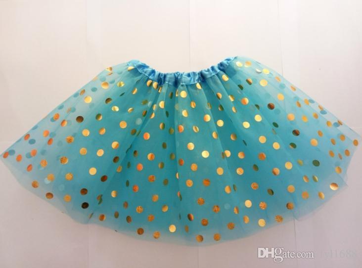 2018 girls gold polka dot tutu skirt baby christmas tutus kids tutu skirts toddler skirts red infant pettiskirt newborn photography props